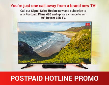 Postpaid Hotline Promo